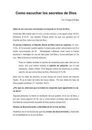 Como escuchar los secretos de Dios.pdf - Atalayas en Acción