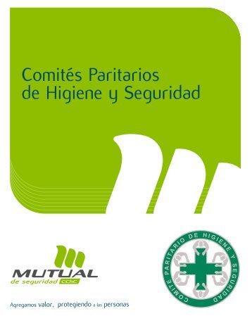 Comités Paritarios de Higiene y Seguridad - Mutual de Seguridad