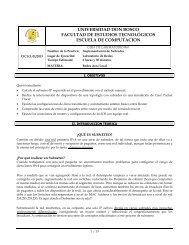 LAN Practica 07: Implementacion de Subredes - Universidad Don ...
