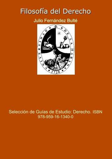 Filosofía del Derecho. En - Editorial Universitaria