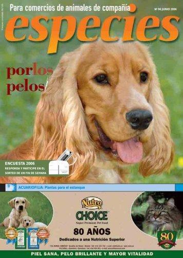 ENCUESTA 2006 - especies
