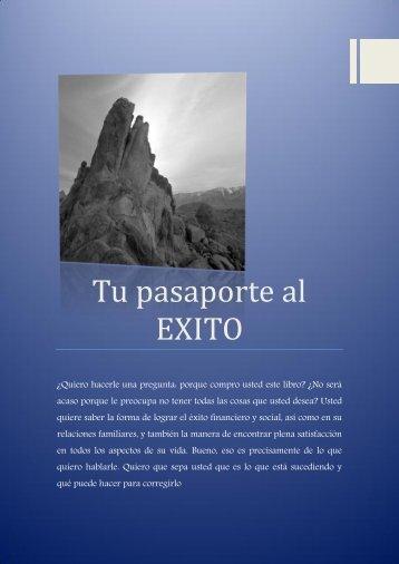 Tu pasaporte al EXITO