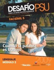 PSU Lenguaje 2 - Sala de Historia