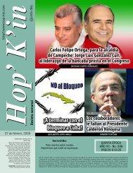 ¡A terminar con el bloqueo a Cuba!