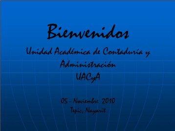 Codeca XIV MC Marice.. - Unidad Académica de Contaduría y ...