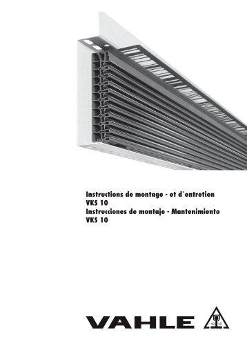 Conducción en gabinete de plástico VKS10 - Vahle