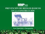 prevencion de riesgos en el sector de la construccion