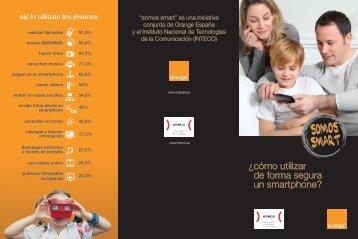 tríptico con consejos para padres y tutores - Acerca de Orange