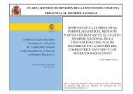 Preguntas y Respuestas al Cuarto Informe Nacional Español para la ...