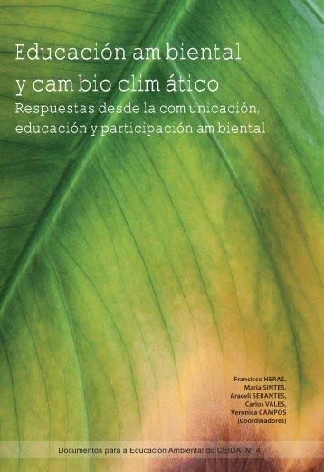 Educación ambiental y cambio climático - Ministerio de Agricultura ...