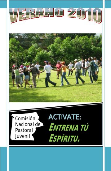 ENTRENA TÚ ESPÍRITU. - Biblioteca de Pastoral Juvenil