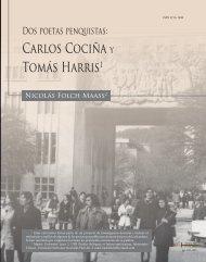 Carlos Cociña y Tomás Harris1 - SciELO