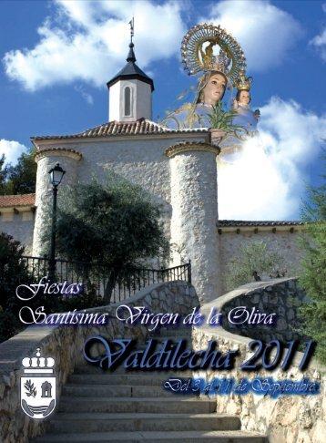 Programa de Fiestas 2011 - Ayuntamiento de Valdilecha