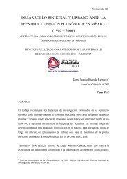 DESARROLLO REGIONAL Y URBANO ANTE ... - Universidad Libre