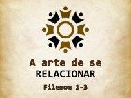 A arte de se relacionar