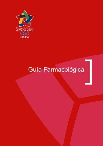 Guía Farmacológica - centro de exposicion y documentación de los ...