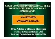 anafilaxia perioperatoria.pdf - Sociedad chilena de alergia e ...