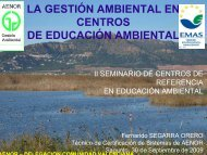 LA GESTIÓN AMBIENTAL EN CENTROS DE EDUCACIÓN ...