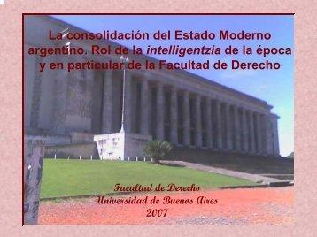 Los Movimientos estudiantiles: el Movimiento - Facultad de Derecho ...