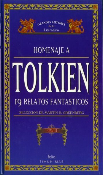 Índice - Inspirado en la obra de J.R.R Tolkien y diversos autores ...