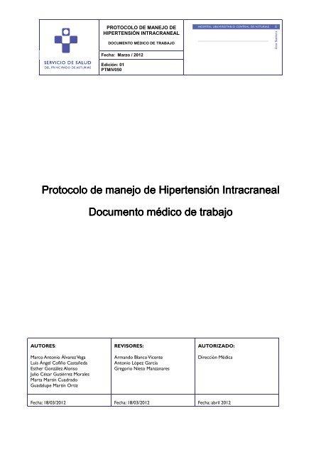 Dosis de hipertensión intracraneal diamox
