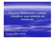 Derecho Ambiental y cambio climático: una relación en evolución