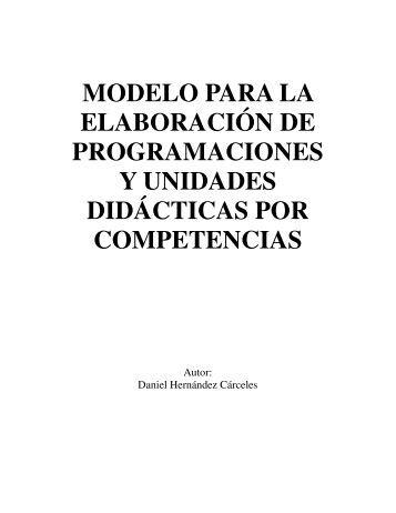 Programaciones y unidades didácticas por competencias