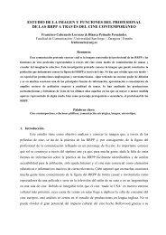 ESTUDIO DE LA IMAGEN Y FUNCIONES DEL ... - CES Felipe II