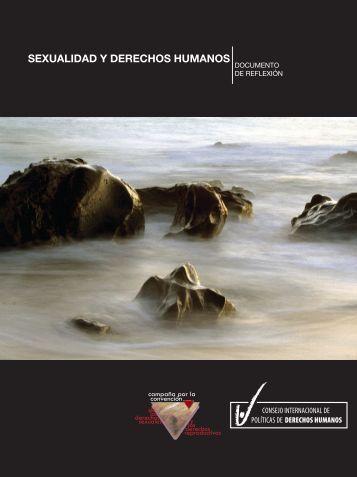 Sexualidad y Derechos Humanos: Documento de ... - The ICHRP