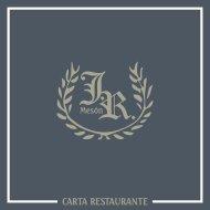 carta restaurante - Restaurante Mesón JR