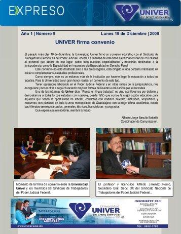 Descargar este expreso en PDF - UNIVER Guadalajara