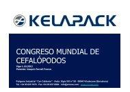 CONGRESO MUNDIAL DE CEFALÓPODOS - Conxemar