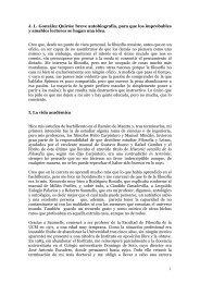 mini-autobiografía - José Luis González Quirós