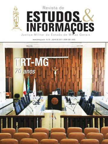 Revista Estudos & Informações - Tribunal de Justiça Militar do ...