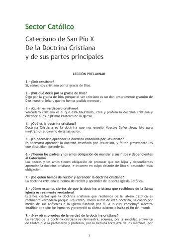 Catecismo Mayor - coro san clemente i