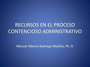 recursos en el proceso contencioso administrativo - Legis