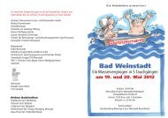 Bad Weinstadt - Remstal-Route