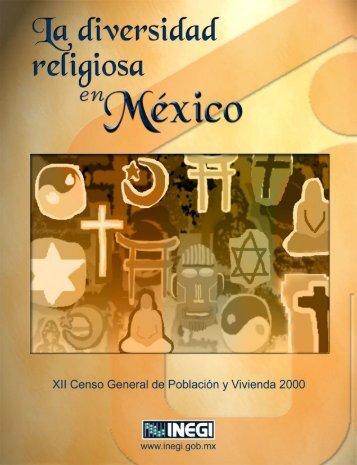 La diversidad religiosa en México - Inegi