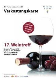 17. Weintreff - Remstal-Route
