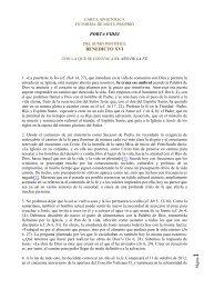 Carta Apostólica Porta Fidei - Colegio Hijas de Cristo Rey
