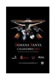Semana Santa calagurritana 2013 - Ayuntamiento de Calahorra