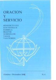 Oración y Servicio - Nº 4 - Octubre - Diciembre 2006 - Apostleship of ...