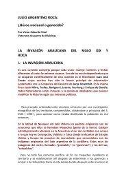 JULIO ARGENTINO ROCA: ¿Héroe nacional o ... - Defender la patria