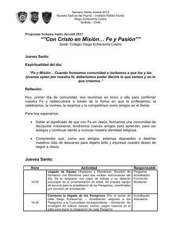 Programa SSJ 2013.pdf - Colegio Ntra. Señora del Huerto