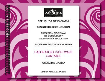 LAB SOFTWARE CONT 11° 2013.pdf - Ministerio de Educación