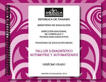 T II (Diag Automz A) 11° 2013.pdf - Ministerio de Educación