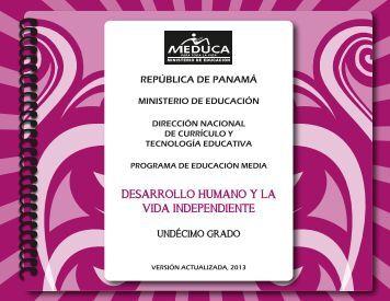 DES HUM Y LA VIDA IND 11°-2013.pdf - Ministerio de Educación