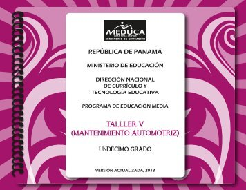 (MANTE AUTOM) 11° 2013.pdf - Ministerio de Educación