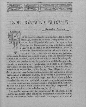 Ignacio Aldama - Bicentenario