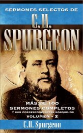 SERMONES SELECTOS DE C.H, SPURGEON - Editorial Clie